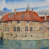 Burg Vischering II, 40 x 30 cm