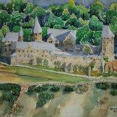 Burg Altena, 30 x 22 cm