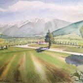 Vinschgau Südtirol, 30 x 20 cm