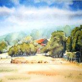 Hattinger Hügelland VI, 30 x 20 cm