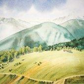 Watles - Südtirol, 30 x 20 cm