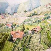 Lana - Südtirol, 30 x 22 cm