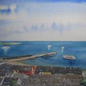 Helgoland, 40 x 30 cm