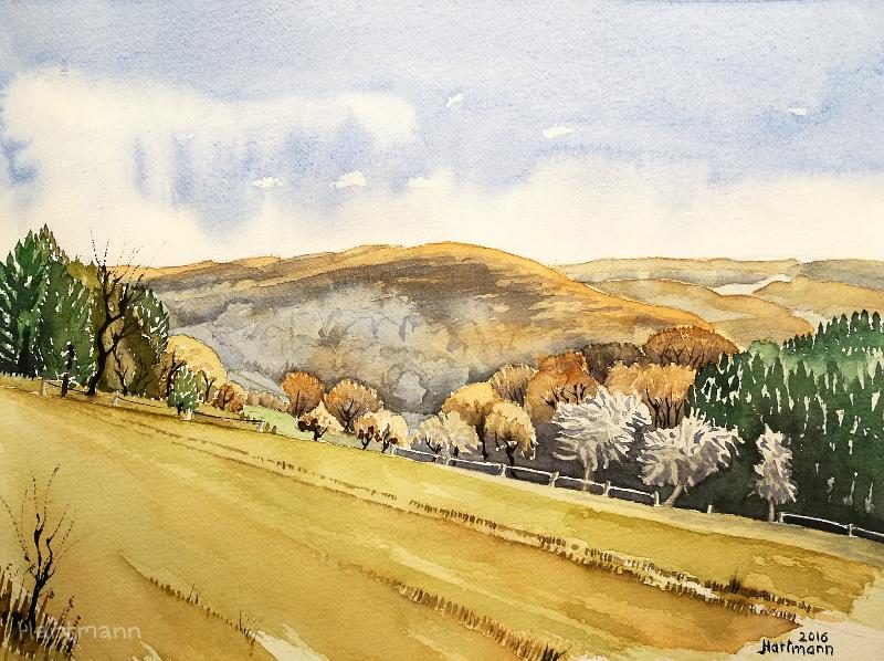 Herbstlandschaft II